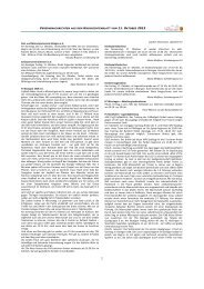 Vereinsnachrichten 11. Oktober 2013 als PDF - Gemeinde Bisingen
