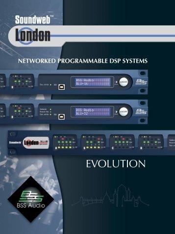 Soundweb London Brochure - BSS Audio