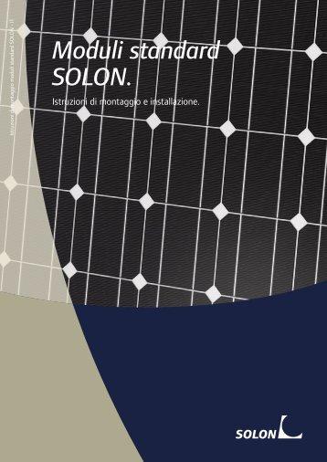Moduli standard SOLON.