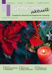 Dezember/Januar - Evangelisch-Lutherische Kirchengemeinde ...