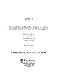 Currency Crises, Exchange Rate Regimes, and Capital Account ...