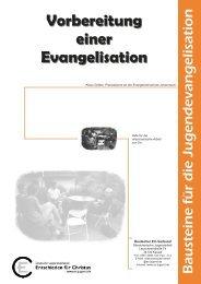 Vorbereitung einer Evangelisation