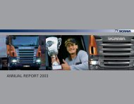 Scania annual report 2003