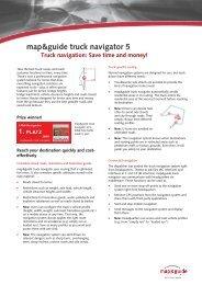 map&guide truck navigator 5 - CarTFT.com