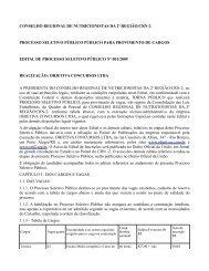 conselho regional de nutricionistas da 2ª região/crn-2 processo ...