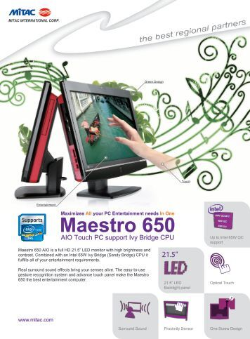 Maestro 650 - CarTFT.com