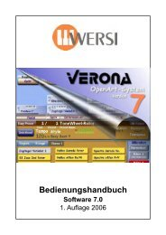 Verona - Wersi Orgel Studio Thum, Orgeln Keyboard ...
