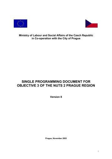 SPD 3 - Fondy EU v Praze