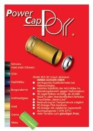 Power Cap - Artur Porr GmbH