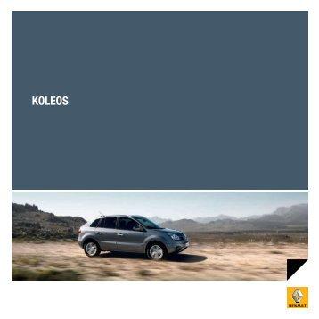 KOLEOS - Renault.be