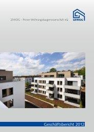 Geschäftsbericht 2012 - GEWOG