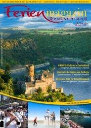 Ferienmagazin Deutschland 2014