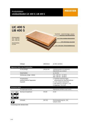 LIC 400 S LIB 400 S