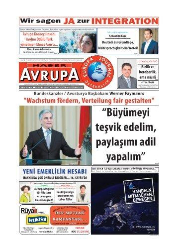EUROPA JOURNAL - HABER AVRUPA FEBRUAR 2014
