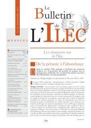 N° 403 - Septembre 2009Les cinquante ans de l'Ilec - Prodimarques