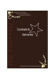 PDF-Dokument - Havanna Bar Remscheid