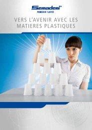 Vers l'avenir avec les matières plastiques. - Semadeni AG