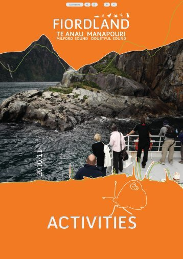 Fiordland Activities (11.3 MB) - Southern Lakes