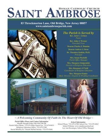 Roman Catholic Church - John Patrick Publishing Company