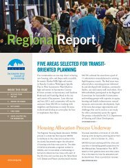 Regional Report - sacog