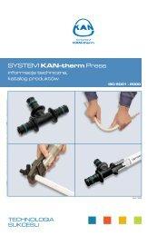 SYSTEM KAN-therm Press SYSTEM KAN-therm Press