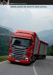 Scania Reparatur und Wartung. Überlassen Sie nichts dem Zufall