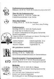 Herz-Jesu-Freita - Kath. Kirchengemeinde St. Knud Nordstrand