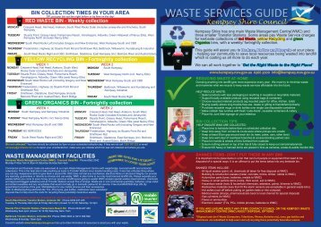 Download the Waste Services Guide (PDF - 6.9 MB)