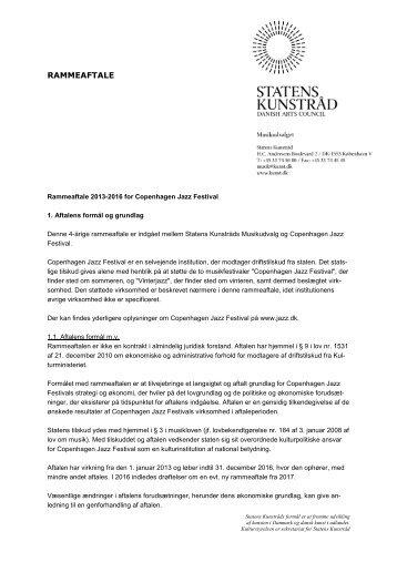 Copenhagen Jazz Festival - Kulturstyrelsen
