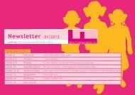 1 Newsletter 01/2013 - Kölner Freiwilligen Agentur