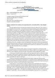 Ufficio scolastico regionale per la Lombardia » http ... - Info-Scuole