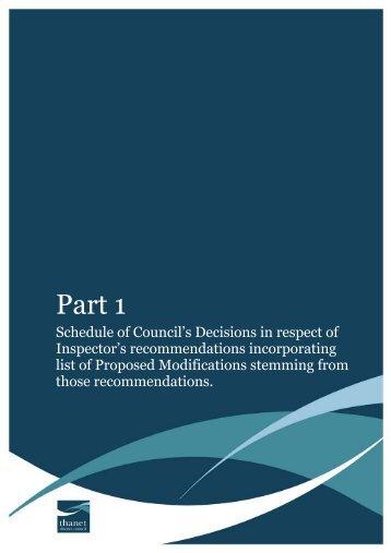 Part 1 - Thanet District Council