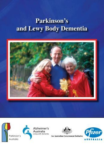 Parkinson's and Lewy Body Dementia - Parkinson's Victoria