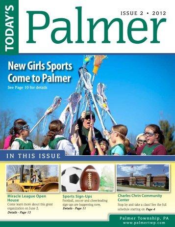 Summer 2012 - Palmer Township
