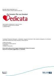 Fascicolo Informativo Dedicata - plataroti assicurazioni