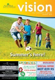 Summer Vision 2012 - North West Leicestershire District Council
