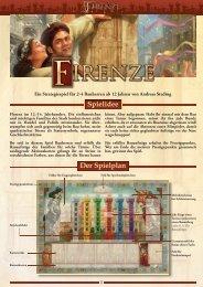 Firenze - Anleitung - Pegasus Spiele