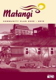 Matangi Community Plan - Waikato District Council