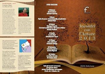 Pieghevole della XVIII edizione - Fondazionecariforli.it