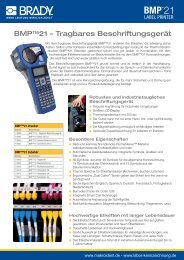 Datenblatt downloaden - Labor-Kennzeichnung