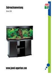 Gebrauchsanweisung Aquarium Juwel Vision 260.pdf - Aquaristik ...