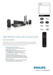 HTS3367/12 Philips DVD home theater system - Mixi, foto in video