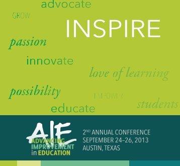 AIE Conference Program