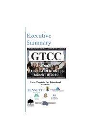 Executive Summary - Guilford Education Alliance