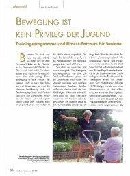BEWEGUNG IST KEIN PRIVILEG DER JUGEND - by reinmein.info