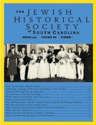 030507 2007 spring jhssc newsletter - Jewish Historical Society of ...