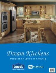 Maytag Dream Brochure - Lowe's