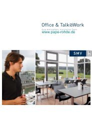 Prospekt SMV Office & Talk @ Work - Pape+Rohde