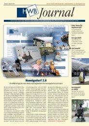 PDF HWB-Journal August 2009 - h e n n i g s d o r f . d e