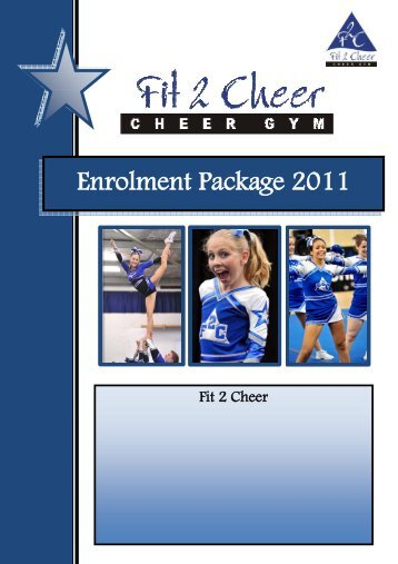 F2C Enrolment Package 2011(1).pdf - Fit 2 Cheer